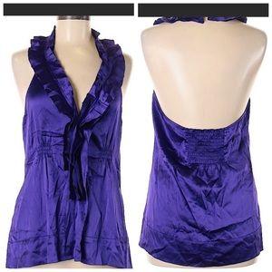 LIKE NEW!! BCBGMaxAzria sleeveless silk blouse